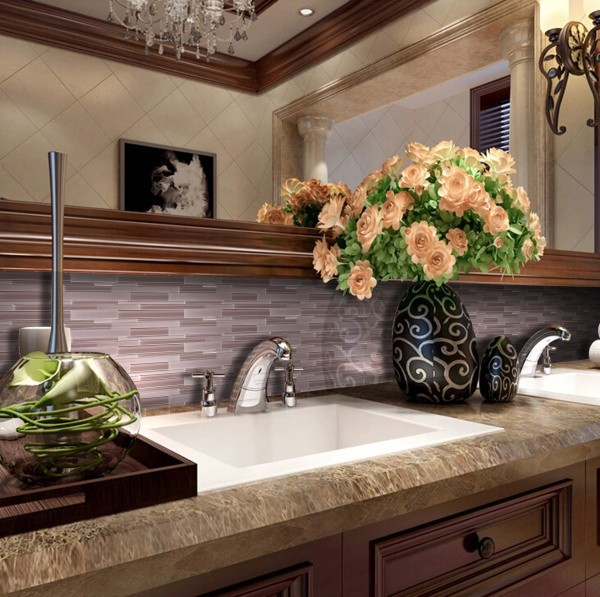 Vg48 China Foshan Big Size Mosaic Glass Linear Bathroom Tile Designs Buy Tile Designs Bathroom