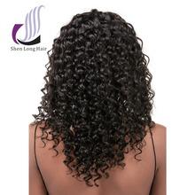 Top Selling Natural Brazilian Hair Pieces 100% High Quality Brazilian Deep Wave Hair