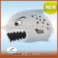 Customized Printed silicon swimming cap FC002