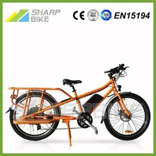 Lithium battery powered electric bicycle 48v, electric bicycle 500w, electric cargo bicycle