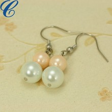 Traditional bulk pearl earrings for women