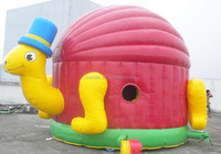 4X4M inflatable jumping castle/good quality jumping buncers for sale