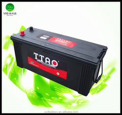 battery car Maintenance Free 120ah battery for car