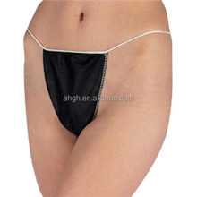 Beauty industry suppliers of disposable nonwoven woman tanga