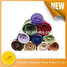 High quality Alibaba china Polyester Polar Fleece acrylic blanket