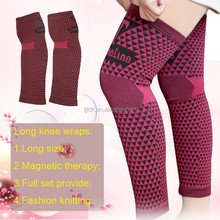 Good elastic flexible long knee pads leg wraps KTK-S000LE