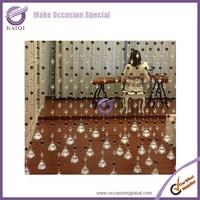 k4205 wholesale wedding crystal plastic pearl beaded door curtain