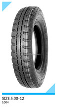 tricycle and heavy duty tire motorcycle tire 5.00-12