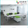 office desk dividers wooden office desk staff desk JK-06