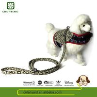 Simple Design Elegant And High-End Colorful Dog Outdoor Fabric Dog Harness