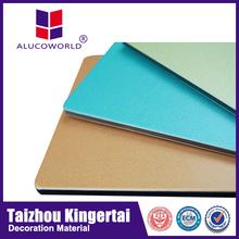 Alucoworld exterior wall siding panel materials acp/acm exterior building finishing walls panels