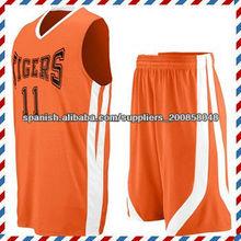 camiseta del diseño de encargo del baloncesto
