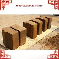 WANTE MACHINERY WT1-20/WT1-20M red clay brick extruder machine