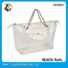 TC C140018 clear plastic Hot sale handbag