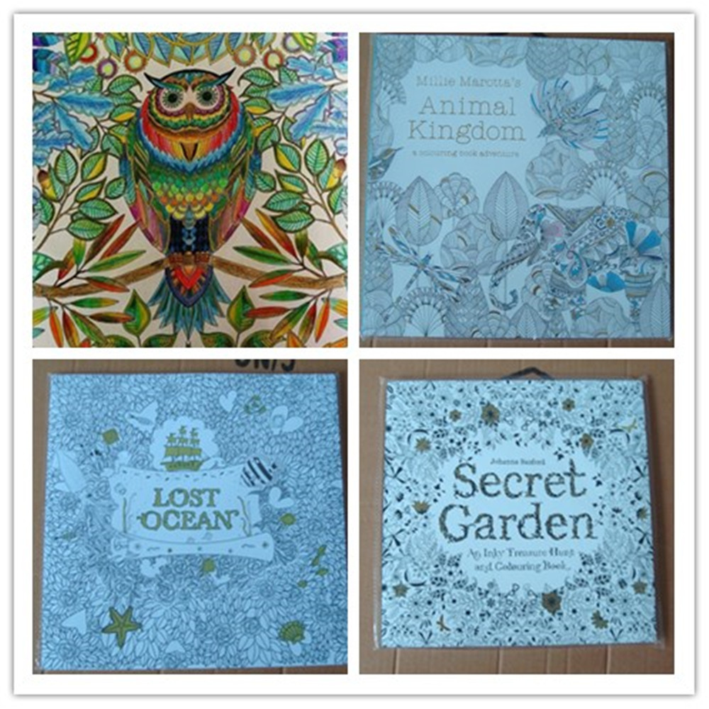2015 Factory Direct Hot Selling English Secret Garden