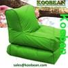 Foldable beach beanbag sun loungers waterproof fabric,Foldable outdoor bean bag lounge chair, bean bag cheap folding lounge chai