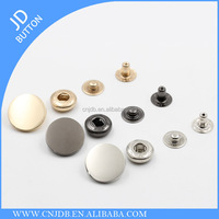 wholesale fashion customized metal snap buttons for jacket 17mm