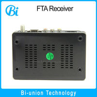good price dvb-s2 set top box MPEG4 H.264 FTA digital mini hd satellite receiver