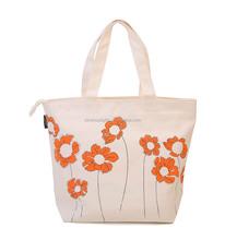 2015 China alibaba woman fashion canvas handbag