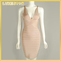 wholesale price sleeveless casual bodycon bandage dresses party celebrity