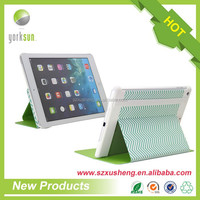 PU leather tablet case for ipad 6