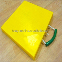 No moisture absorption uhmwpe outrigger pad/ cribbing plates