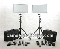 Batteries+Bi-Color 1016 LED Professional Video Lighting Panel Studio Film Lights