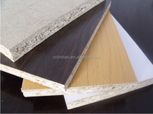 melamine laminated coated weight of particle board