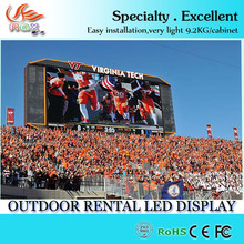 p8 outdoor Football/basketball Stadium Led Display,Sports Led Billboards For Sport Events