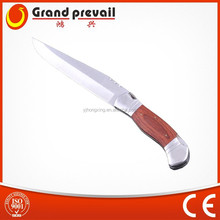 Outdoor Hunting Knife With Leather Sheath