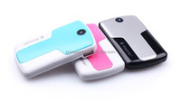 2015 new portable battery charger/emergency mobile phone charger power bank 2600
