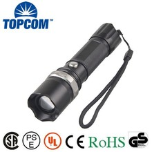 Regularly Available LED Aluminum Powerful Rechargeable Torchlight