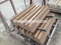 Classical marble window frame, interior door frame by door frame making machine