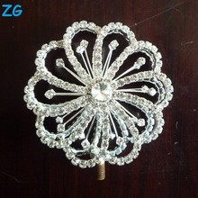 Fashion crystal pageant scepter, flower scepter fairy wand children, flower pageant scepter for princess