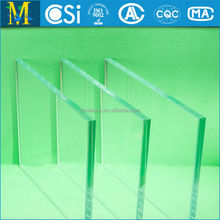 CCC & CSI approved Building tempered glass with rounded holes supply by alibaba gold supplier