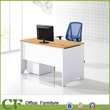 MFC chipboard 1 seats office desk dividers