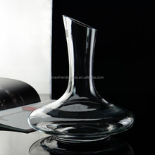hand made wine decanter with pour top