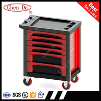 professional tool cabinet with six drawer / with 220 pcs tools