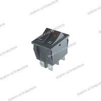 15a 125vac rocker switch 6pins double button on-off led rocker switch