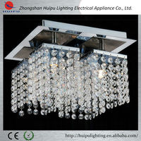 China alibaba hot sell dining room crystal ceiling lamp