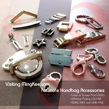 New Fashion Design of Zinc Alloy Custom Metal Handbag Hardware