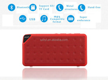 2015 cheap Bluetooth Speaker TF USB FM Wireless Portable HandsFree Music Sound Box Subwoofer Loudspeakers with Mic New