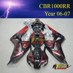 Hot sale Aftermarket Fairing Body Kit Quality ABS for Honda CBR1000RR 2006 2007 06 07