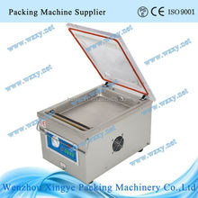 Table-top vacuum packing machine for chicken leg
