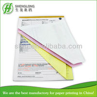Product warranty certificate(carbonless paper printing )SL565
