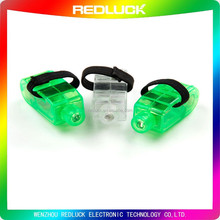 2015 Hot Items Products LED finger Light Multi-color led laser finger light ring Blister Card Packaging