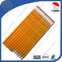 7 Inches Wooden Promotional HB Pencil With Eraser
