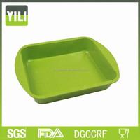 Disney Supplier Non-stick FDA Standard bakeware carbon steel non-stick bakeware baking pan plate with handles