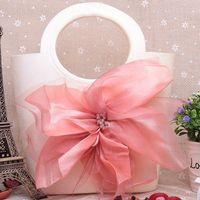 high quality cute wedding fruit bag ,factory OEM fashion jelly handbag