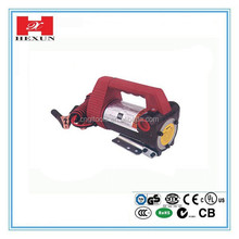 220V Diesel electric metering pump deliver hose oil gun fuel meter